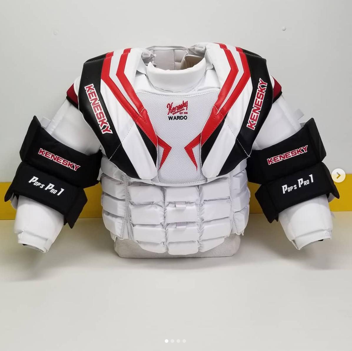 Kenesky in the NHL - Goal Equipment - ModSquadHockey 1c2d49141